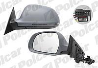Зеркало левое 3дв эл+обогр Audi A3 8P 2008-2011