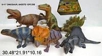 """Динозавр Гонконг 222N резин. 11"""" 6в.12 шт.в кор.30,5*21,9*10,2 ш.к./12/144/"""