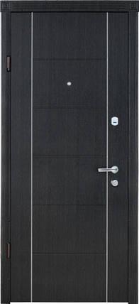 Входная дверь Страж standart Параллель венге темный, фото 2