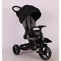 Детский трехколесный велосипед-коляска Stokke Modi Crosser T600 6в1 Черный