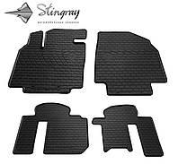 Автомобильные коврики Мазда CX-9 2007- Комплект из 4-х ковриков Черный в салон. Доставка по всей Украине. Оплата при получении