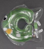 Круг для купания младенца зелёный арт. 779-707
