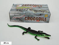 """Крокодил Гонконг H9702W резин.с пищалкой, 16"""" 12 шт. в кор., ш.к./12/144/"""