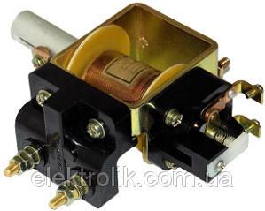 Реле РЭО 401 25А с блок-контактами