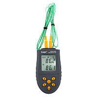 Термометр с термопарами К-типа - TASI-8620 ( TM620 ) ( -50ºC до 1350ºC )