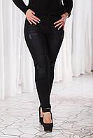 """Женские стильные джинсы """"американка"""" 12759 / черные"""