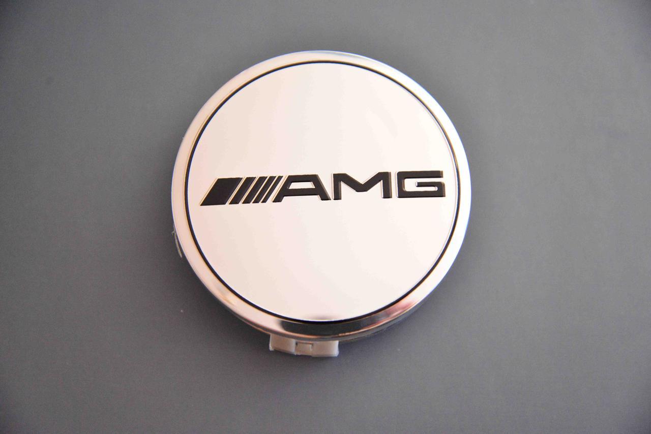 Колпачки заглушки на литые диски в диски Mercedes  Мерседес AMG (75/70