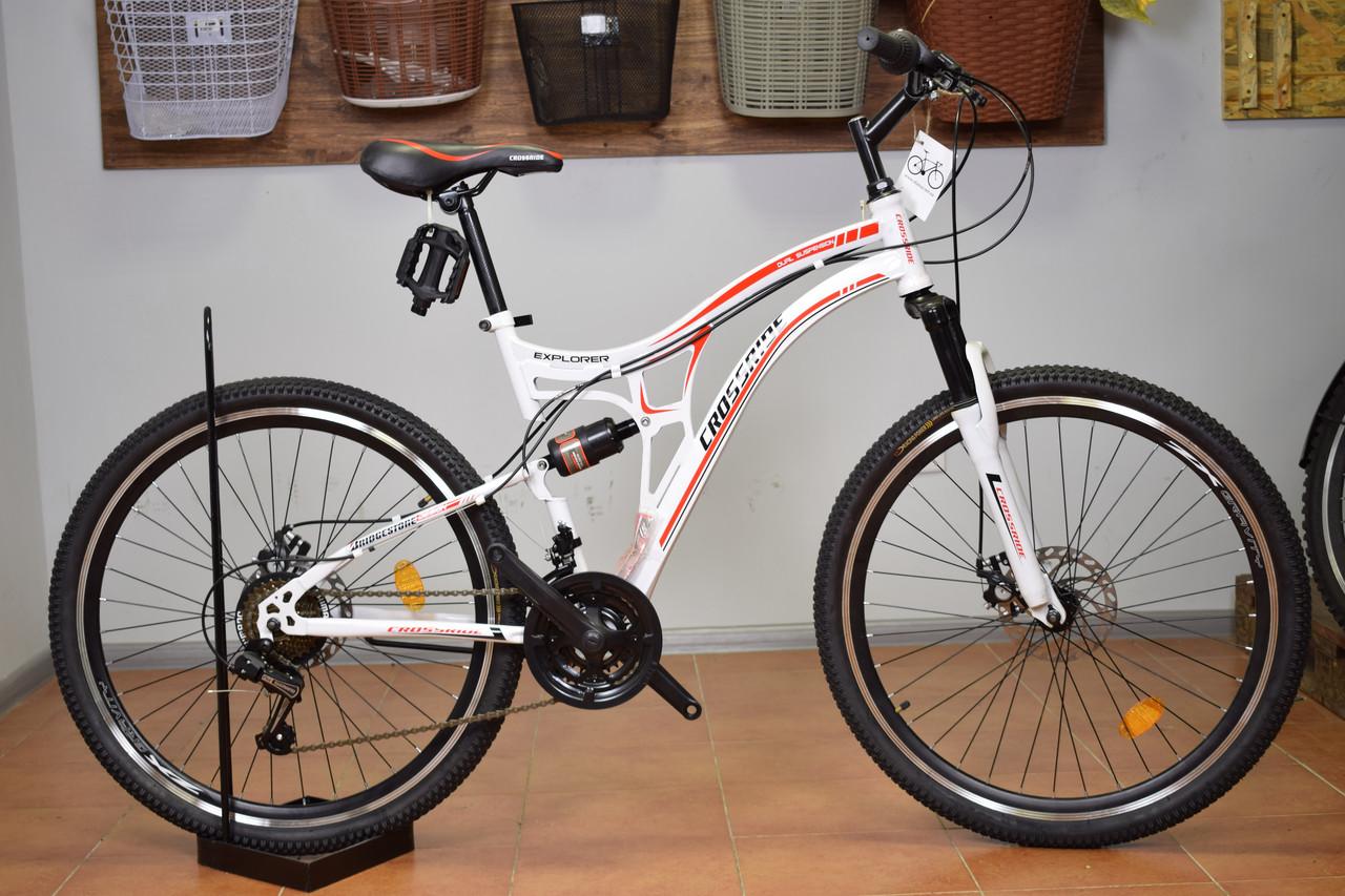 """Двухподвесный горный велосипед 26"""" Crossride Explorer (Ardis)"""