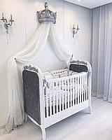 "Детская кроватка ""Elite baby Silver"""