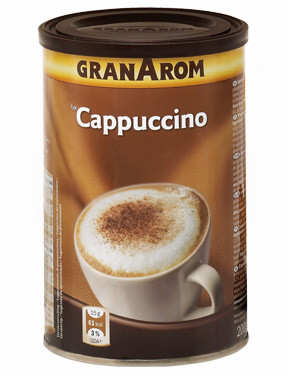 Готова суміш для капучино Cappuchino GranArom Cremoso, 250 гр.