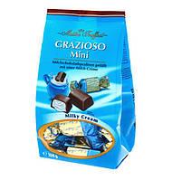 Шоколадные конфеты с молочной начинкой Grazioso Mini, Maitre Truffout, 108 г