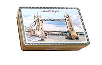 Шоколадные конфеты, пралине city London - 1984 Maitre Truffout, 220 г