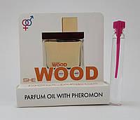 Масляные духи с феромонами Dsquared She Wood Velvet Forest Wood 5 ml, купить, цена, отзывы, интернет-магазин