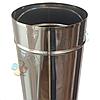 Труба для дымохода d 130 мм; 0.8 мм; 1 метр из нержавейки AISI 304 - «Версия Люкс», фото 3