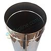 Труба для дымохода d 130 мм; 0.8 мм; 1 метр из нержавейки AISI 304 - «Версия Люкс», фото 4