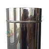 Труба для дымохода d 130 мм; 0.8 мм; 1 метр из нержавейки AISI 304 - «Версия Люкс», фото 5