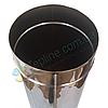 Труба для димоходу d 150 мм; 0.8 мм; 1 метр з нержавіючої сталі AISI 304 - «Версія-Люкс», фото 4