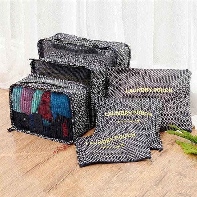 Удобный набор дорожных сумочек в чемодан