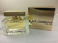 Женская парфюмированная вода Dolce & Gabbana The One 75 ml ( Дольче Габана зе Ван )  (Реплика)