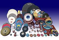 Абразивы, пильные, отрезные, зачистные диски. Шлифовальные ленты