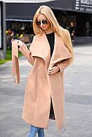 Женское Пальто миди прямое