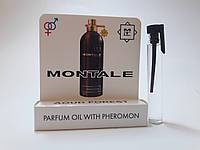 Масляные духи с феромонами Montale Aoud Forest 5 ml, купить, цена, отзывы, интернет-магазин
