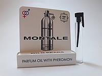 Масляные духи с феромонами Montale Wild Pears 5 ml, купить, цена, отзывы, интернет-магазин