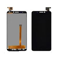 Дисплей (экран) для Alcatel One Touch 6030 Idol + с сенсором (тачскрином) черный