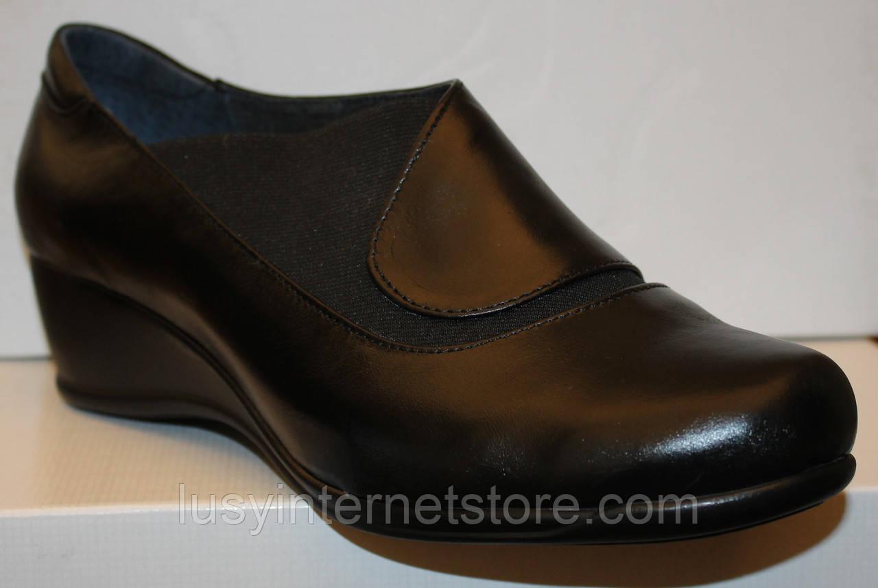 ab6f30795 Туфли на танкетке большого размера кожаные, женские туфли 38-43 от  производителя модель ВБ2380р ...