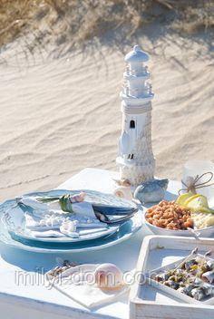 Поступление новой посуды в морском стиле и стиле шебби-шик