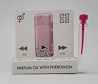 Масляные духи с феромонами Givenchy Play for Her 5 ml, купить, цена, отзывы, интернет-магазин
