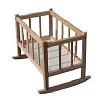 Кроватка для кукол деревянная (бук), 171016
