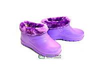 Галоши детские фиолетовые Паяс