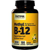 Jarrow Formulas метилкобаламина B12 Methyl B-12 1,000 mcg100 lozenges