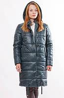 Женская бирюзовая зимняя куртка Даша 48-56 размеры