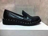 Туфли женские подиум натуральная кожа код 685