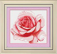 """Набор для рисования камнями (холст) """"Роза"""" LasKo"""
