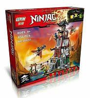 """Конструктор LEPIN 06037 (аналог Lego Ninjago 70594) """"Осада Маяка"""" 850 дет, фото 1"""
