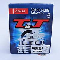 Cвечи зажигания Denso Т04 К20ТТ 4604