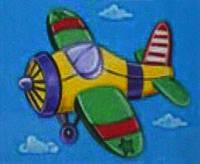 Набор для рисования 951012 Самолет (20 х 25 см) 1 Вересня