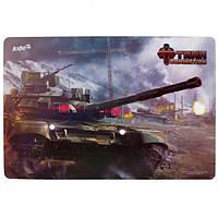 Подкладка настольная Tanks Domination 42,5x29 см   (TD15-207K )