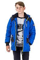 Демисезонная куртка парка на мальчика и подростка  Генри