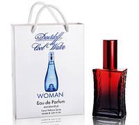Мини парфюм Davidoff Cool Water woman в подарочной упаковке 50 ml (Реплика)