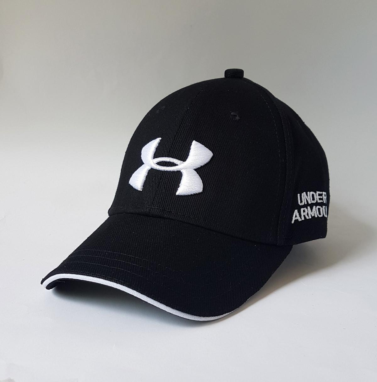 Кепка Under Armour черная - Brendosport - мультибрендовый интернет-магазин  одежды и аксессуаров в Виннице 55c6da209ca3e