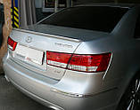 HYUNDAI Sonata установка спойлера! Київ, фото 4