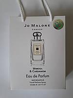 Мини парфюм Jo Malone Mimosa And Cardamom в подарочной упаковке 50 ml, купить, цена, отзывы, интернет-магазин