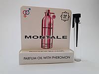 Масляные духи с феромонами Montale Roses Elixir 5 ml, купить, цена, отзывы, интернет-магазин
