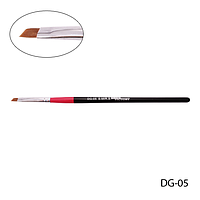 Кисть DG-05 - №5 для гелевого моделирования (нейлон), купить, цена, отзывы, интернет-магазин
