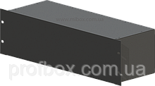 Корпус металевий Rack 3U, модель MB-3160S (Ш483(432) Г162 В132) чорний, RAL9005(Black textured)