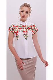 Женская модная блуза фольклор Элина размер 42,44,46